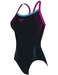 Speedo Damen Badeanzug Thinstrap Muscleback 8-05403