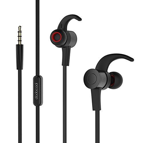 dodocool Hi-Res Auriculares bluetooth In-Ear reducción de ruido 24 bits Alta Resolución  Manos libres con micrófono  3.5mm Audio Plug para iPhone / Samsung / PC y más