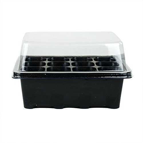 3-sets-of-plant-seedling-starter-12-nursery-pots-trays-box-with-dome