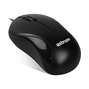 ASTRUM Mouse USB Optical AERO USB Black