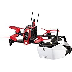 Walkera FPV 15004150-QuadroCopter de Racing Rodeo 110-FPV-Drone RTF avec caméra HD, Masque V4Lunettes vidéo, batterie, chargeur et Devo 7Télécommande