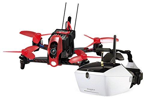 Walkera FPV 15004150–QuadroCopter de Racing Rodeo 110–FPV-Drone RTF avec caméra HD, Masque V4Lunettes vidéo, batterie, chargeur et Devo 7Télécommande