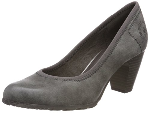 s.Oliver Damen 22404 Pumps, Grau (Graphite), 37 EU