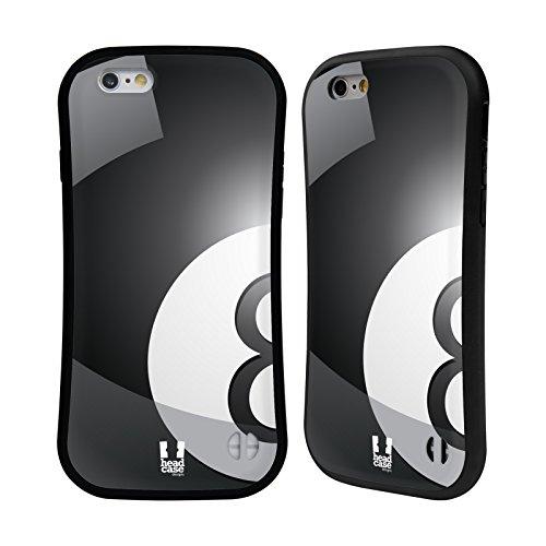 Head Case Designs Rugby Collections Boules Étui Coque Hybride pour Apple iPhone 5 / 5s / SE Billard