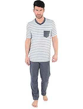 Italian Fashion IF Pijamas para hombre Dellix 0230