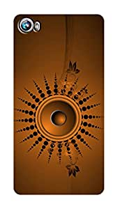 SWAG my CASE PRINTED BACK COVER FOR MICROMAX CANVAS FIRE 4 A107 Multicolor