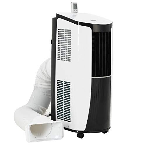 Festnight- Mobile Klimaanlage Aircooler Klima Ventilator mit Fernbedienung Klima Anlage mit digitalem Temperaturdisplay2600 W (8870 BTU)