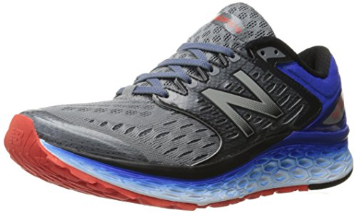 New Balance Hombre M1080v6 Running Shoe Silver/Blue