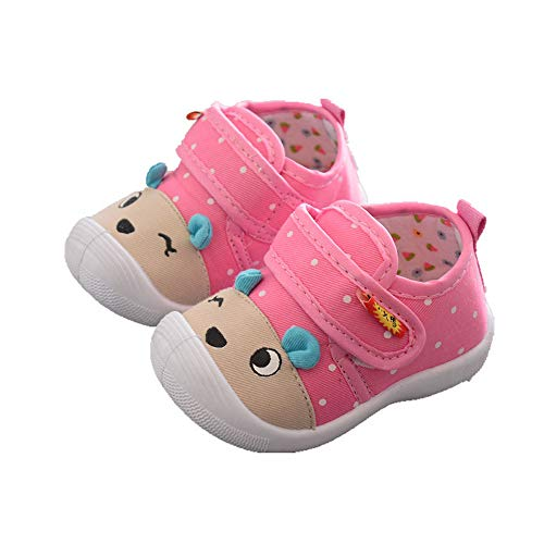 0cb4c5c27b892 Chaussons Bebe Filles Walaka Enfants Chaussures Foot Cartoon Anti-DéRapant  Chaussures Semelle Souple Squeaky Baskets