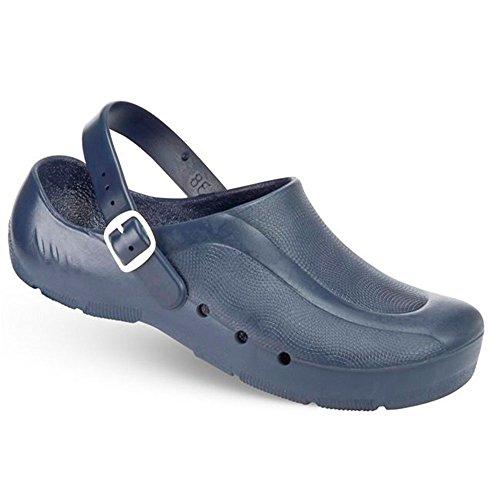 Chiroclogs Fersenriemen chaussures On Economia Unisexe Blu Con gzqagdR
