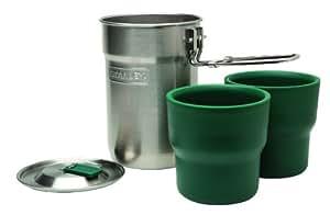 Stanley 0.71Litre Adventure Camp Cook Set, Green/ Silver