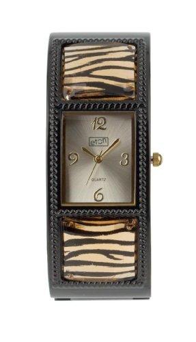 eton 2737L-TG – Reloj de mujer de cuarzo, correa de otro material color negro