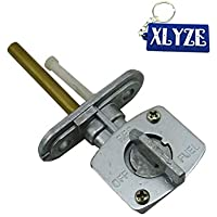 XLYZE 8mm 5/16'' Gas Fuel Petcock interruptor de la válvula para Yamaha YZ125 YZ250 YZ400F YZ426F YZ450F PW80 BW80 BW200