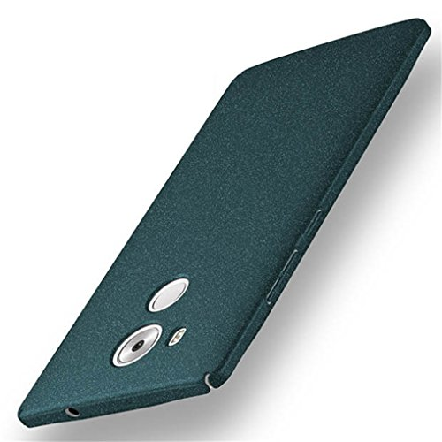 Bllosem Huawei Mate 8 Hülle Neu High Quality Ultra Slim Sand Rock Exquisite reale Haut Gefühl Ganzkörper Schutzhülle Hülle für Huawei Mate 8 Hülle Grüne