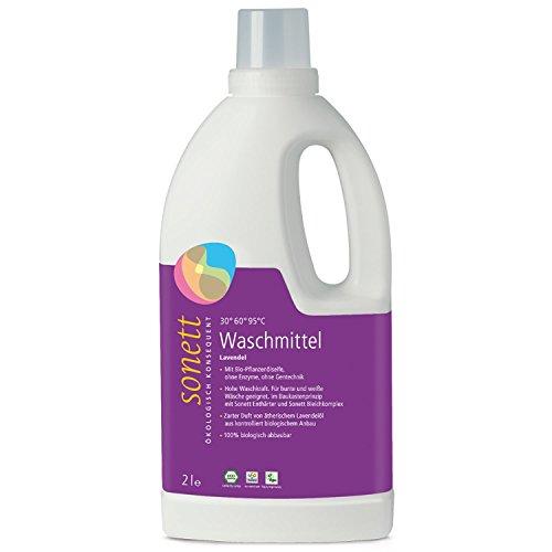 Die Sonett Waschmittel Lavendel im Vergleich