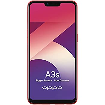 Oppo A3s Red 2gb Ram 16gb Storage With No Cost Emi Additional Exchange Offers