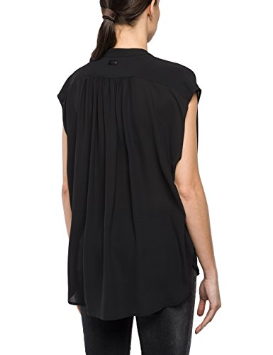 REPLAY, Camicia Donna Nero (Black 98)