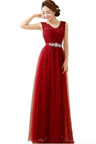 Toscana sposa rosa antico sexy nuovo Scollo a V sirena Paillette sera vestiti lungo Party vestiti prom abiti vestiti da ballo rosso vivo