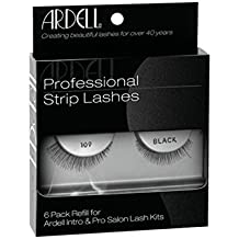 Ardell 6pk Refill Natural Lashes for Professional Kits - #109 Black