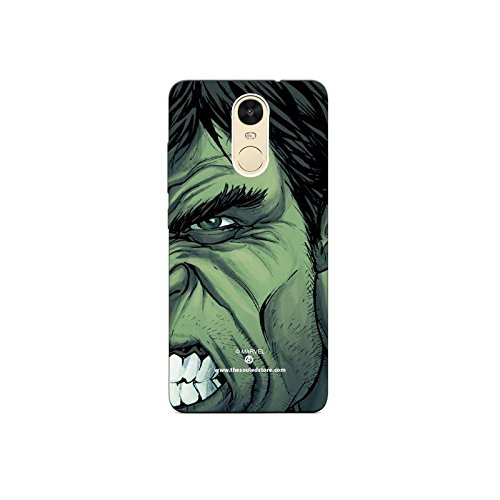 Hulk Face Xiaomi Redmi Note4 Mobile Case by The Souled Store