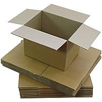 Triplast TPLBX25SINGL8X6X4 Colis postal en carton de forme cubique Petite taille 203 x 152 x 102mm
