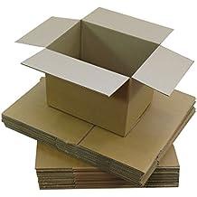 cajas pequeñas amarillo de carton regalo amazon