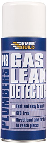 Everbuild P18GASLEAK P18 Plumbers Gas Leak Detector 400ml Test