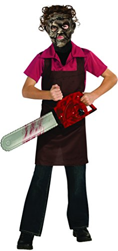 Kostüm LEATHER The Texas Chainsaw Massacre für Kind