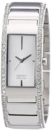 Esprit Damen-Armbanduhr Karpo silver Analog Quarz Edelstahl EL102002F01