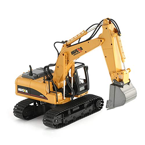 RC Auto kaufen Baufahrzeug Bild 6: HUINA 1550 1/14 2.4G 15CH RC Legierung Bagger LKW Baufahrzeug Spielzeug*
