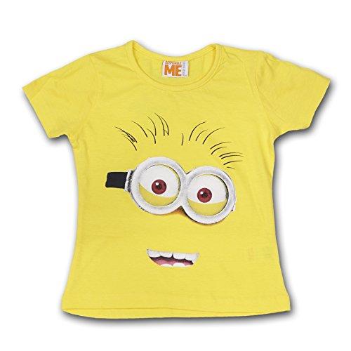 Minions Ich einfach Unverbesserlich Kinder Shirt T-Shirt (Gelb, 110-116 (5-6 Jahre))