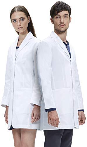 Dr. James Unisex Laborkittel, Semi Tailliert, Multiple Taschen DR13-S