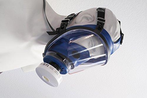 RESTPOSTEN Atemschutzmaske Atemmaske Vollmaske Klasse 2 EN 136 Rundgewindeanschluss Rd40 Normaldruckausführung - 4