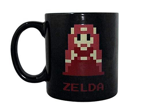 Legend von zelda- Zelda Kaffeebecher aus Keramik die 8Bit Artwork bedruckt
