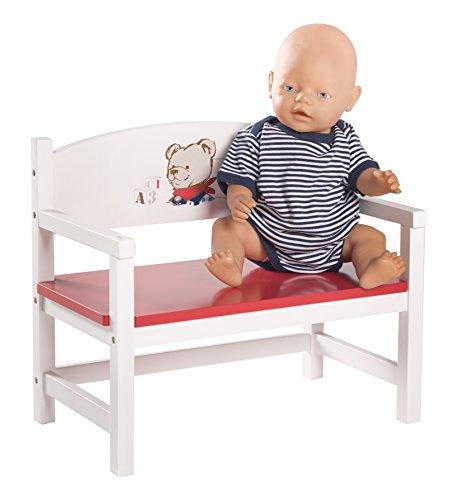 Roba 98837 - Teddy College Bambole Panca