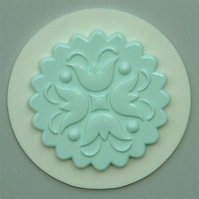 Preisvergleich Produktbild Törtchen Dekoration 7 - Silikon Glasur Formen Für Torten Und Kuchen Dekoration