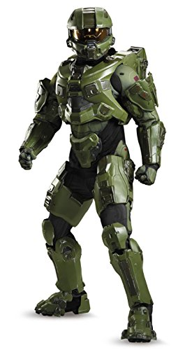 (Halo Master Chief Ultra Prestige Adult Costume Medium (38-40))