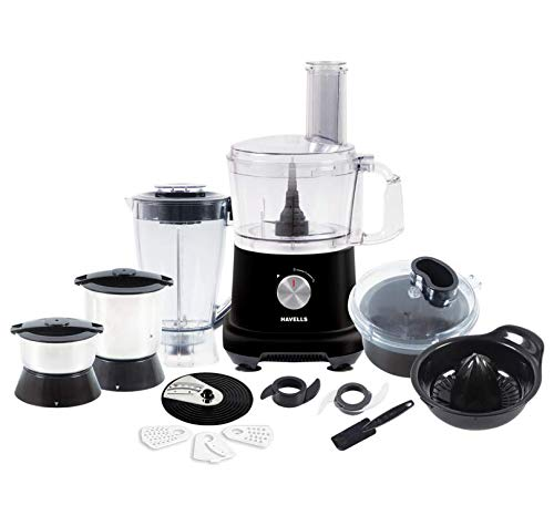 HAVELLS EXTENSO Food Processor 800W Black
