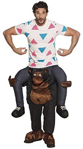 Boland 88099 Kostüm Funny, unisex-adult, Gorilla, ()