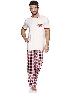 Italian Fashion IF Pijamas para Hombre Domenico 0230