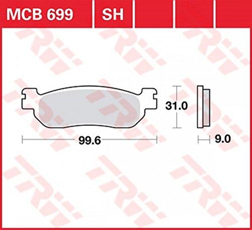 Preisvergleich Produktbild Lucas Bremsbelag Satz MCB699