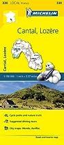 Cantal/Lozere (Michelin Local Maps)
