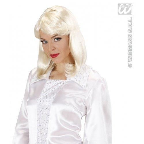 WIDMANN 70er Jahre Pop Star Agnetha Perücke für - 70er Jahre Pop Stars Kostüm