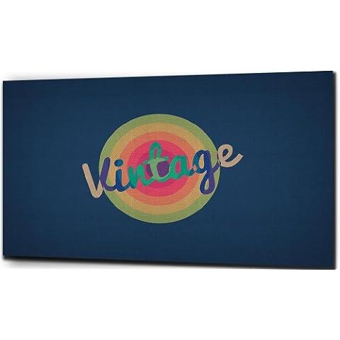 Vintage e orgogliosi grande tela 152,4x 81,3cm