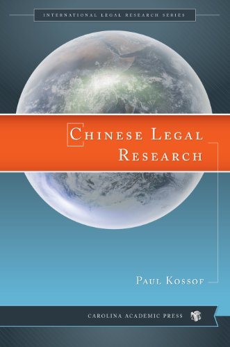Chinese Legal Research (International Legal Research) por Paul Kossof