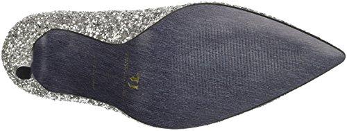 TRUSSARDI JEANS by Trussardi 79s29151, Chaussures à Talon à Bout Fermé Femme Argento (Silver Glitt)