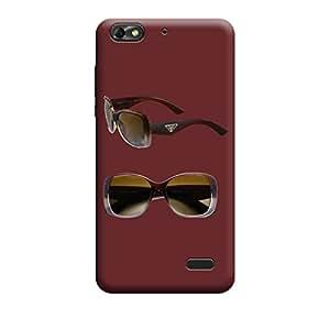 Qbic Premium 3d Printed Back Case Cover Huawei Honor 4c (Premium Designer Case)