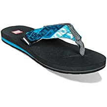 Quiksilver Massage, Chanclas Para Hombre, Multicolor (Black/Green/Green Xkgg), 41 EU