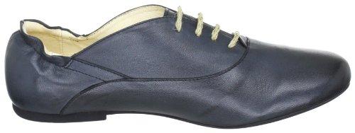 Jonny's Jette J-17039, Chaussures à lacets femme Noir verni