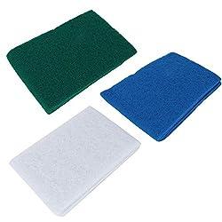 Mootea Bio Schwamm Biochemische Schwamm Filter Schwamm 3 Stücke Aquarium Biochemische Schwamm c Media Block Foam pad